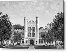 College Of Wooster Kauke Hall Acrylic Print by University Icons