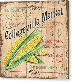 Collegeville Market Acrylic Print