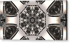 Collider Acrylic Print by Ricky Jarnagin