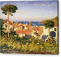 Collioure Acrylic Print by James Dickson Innes