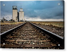 Collyer Tracks Acrylic Print by Darren White