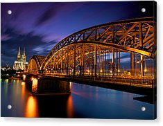 Cologne Cathedral Acrylic Print by Andre Distel Photography