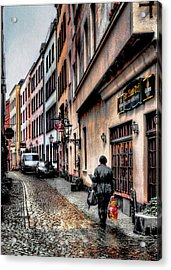 Cologne Alstadt Acrylic Print by Jim Hill