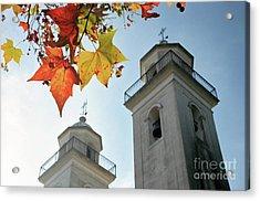Acrylic Print featuring the photograph Colonia Del Sacramento Church by Bernardo Galmarini
