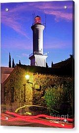 Acrylic Print featuring the photograph Colonia Lighthouse by Bernardo Galmarini