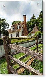 Colonial America Home Acrylic Print