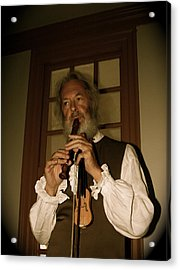 Colonial Entertainer Acrylic Print by Aimee Galicia Torres