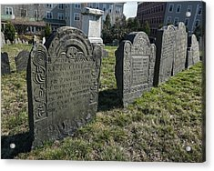 Colonial Graves At Phipps Street Acrylic Print
