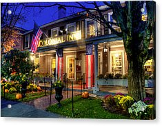 Colonial Inn Concord Ma -historic Sites Acrylic Print