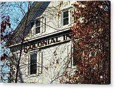 Colonial Inn Acrylic Print