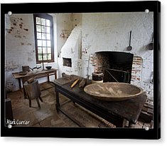 Colonial Kitchen Acrylic Print by Mark Currier