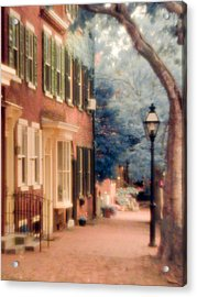 Colonial Old New Castle Acrylic Print