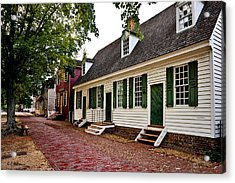 Colonial Times Acrylic Print by Christopher Holmes