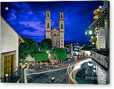 Colonial Town Of Taxco, Mexico Acrylic Print