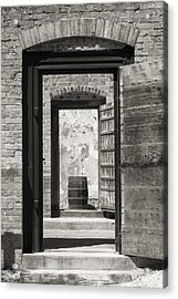 Colonial Williamsburg - Public Goal Acrylic Print
