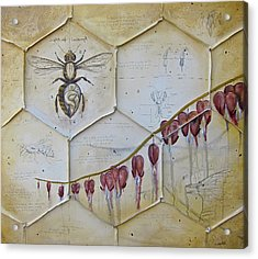 Colony Collapse Disorder Acrylic Print by K Llamas