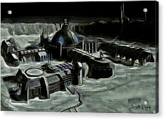 Colony Acrylic Print by Leonardo Digenio