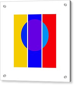 Color And Form Acrylic Print by Charles Stuart