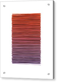 Color And Lines 3 Acrylic Print
