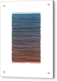 Color And Lines 4 Acrylic Print