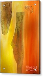 color and passion C Acrylic Print by Mimo Krouzian