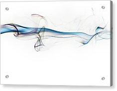 Color And Smoke V Acrylic Print