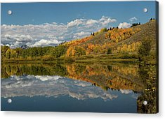 Color At Oxbow Bend Acrylic Print