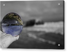 Color Ball Acrylic Print by Lora Lee Chapman