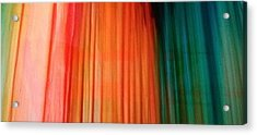 Color Bands Acrylic Print