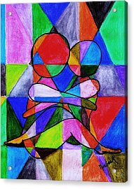 Color Blind Acrylic Print by Thomas J Norbeck