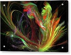 Color Burst Acrylic Print