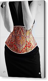 Acrylic Print featuring the photograph Color Corset by Andrey  Godyaykin