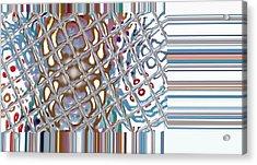 Color Crystal Acrylic Print by Thomas Smith