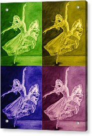 Color Dancer Acrylic Print