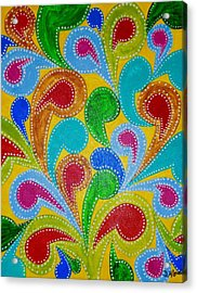 Color Explosion Acrylic Print