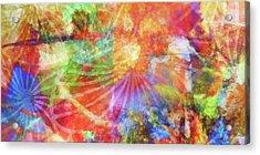 Color Festival Acrylic Print by Lutz Baar