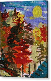 Color Forest Acrylic Print
