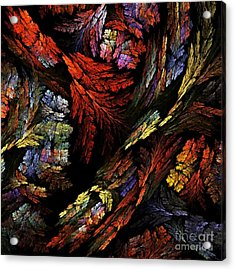 Color Harmony Acrylic Print by Oni H