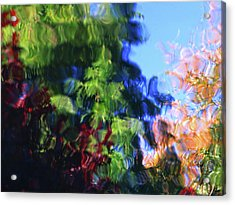 Color In Motion Acrylic Print