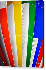 Color In The Air Acrylic Print by Juergen Weiss