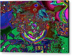 Color Is A Candy For The Senses Acrylic Print by Kenneth James