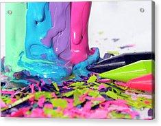 Color Madness Acrylic Print
