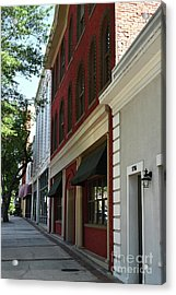Acrylic Print featuring the photograph Color Me Main St Usa by Skip Willits