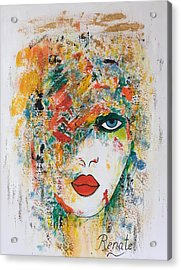 Color Me.... Acrylic Print