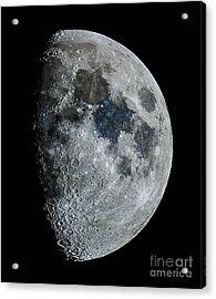Color Moon Acrylic Print