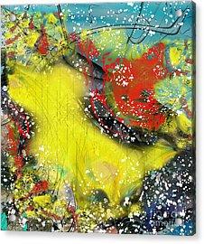 Let's Celebrate Acrylic Print by Yul Olaivar