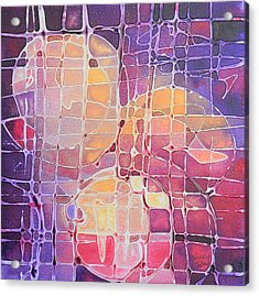 Color Odyssey Acrylic Print by Nancy Jolley