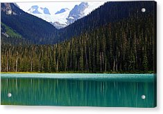 Lower Joffre Lake Acrylic Print