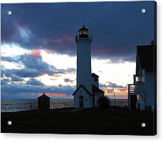 Color Of December, Tibbetts Point Lighthouse Acrylic Print