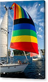 Color Of Wind Acrylic Print by Tom Dowd